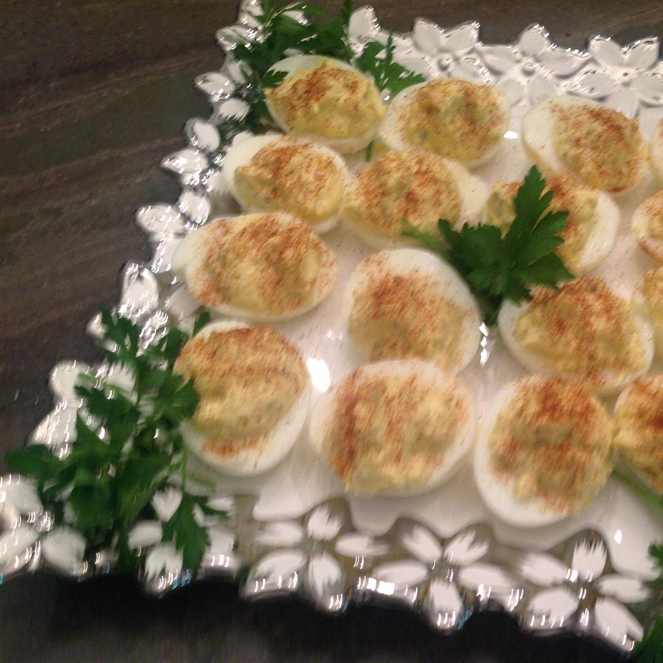 Classic Deviled Eggs Eileen Caramagno