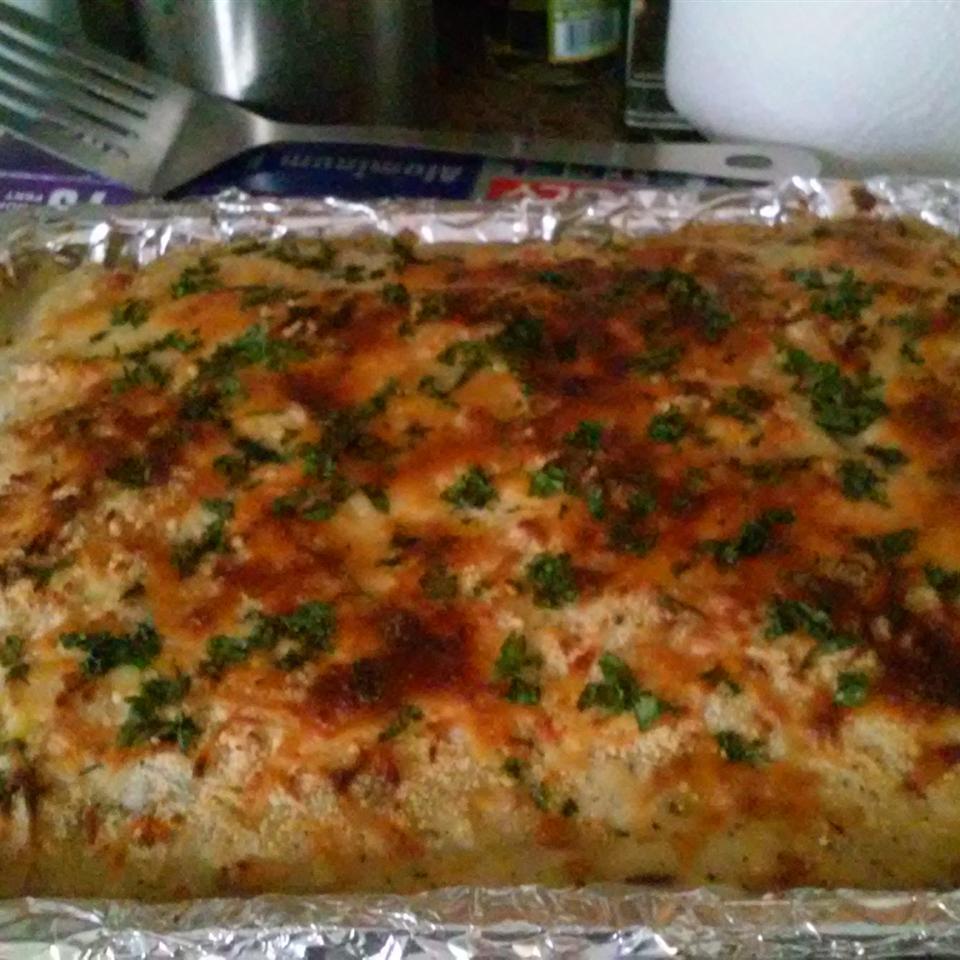 White Cheese Chicken Lasagna