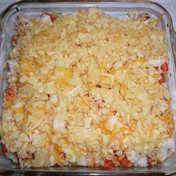 Tomato Cheese Crunch