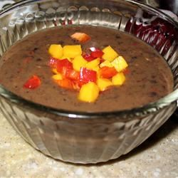 Calypso Black Bean Soup PAMELA D. aPROpos of nothing