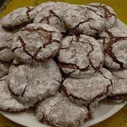 Chocolate Crinkles III