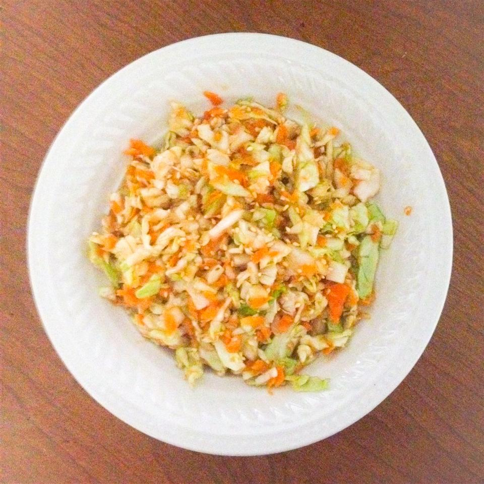 Mayo Free Cabbage Salad volcanogrl20