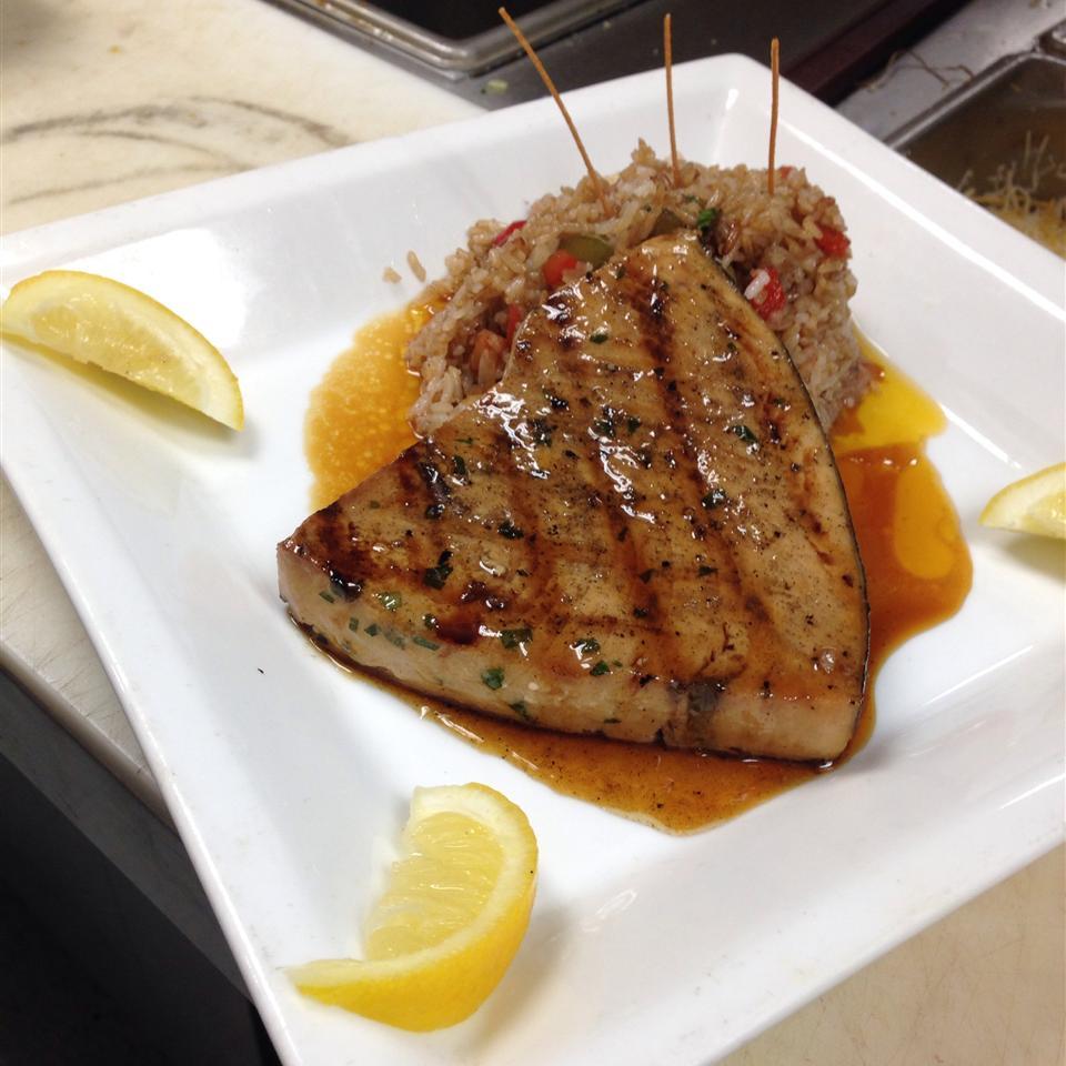 Grilled Marinated Swordfish Brandon WaitforIt Stone