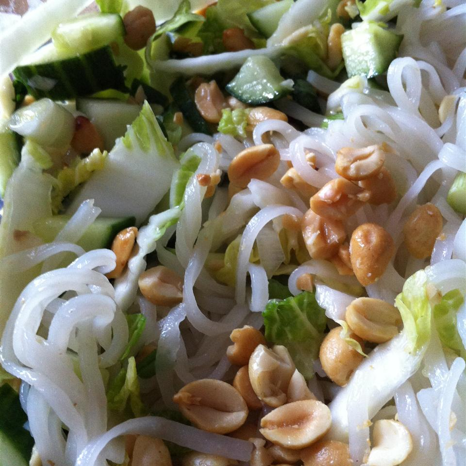 Vietnamese Rice Noodle Salad Jamie Justice Yost