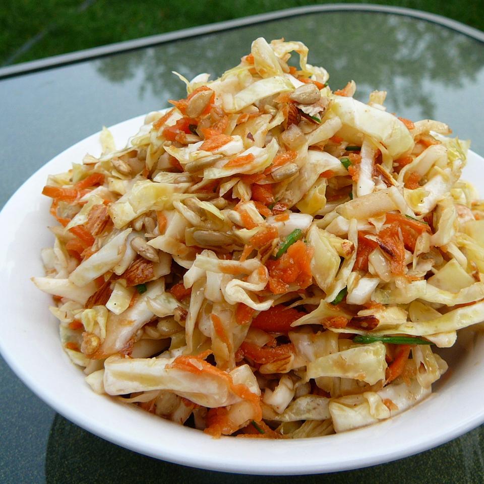 Mayo Free Cabbage Salad