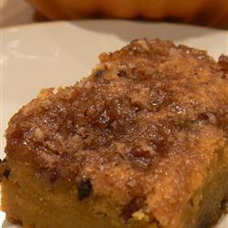 Pumpkin Coffee Cake Lori L.