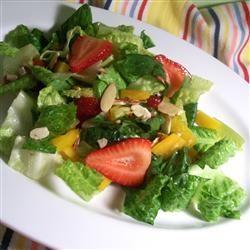 Nutty Strawberry Salad SunnyByrd