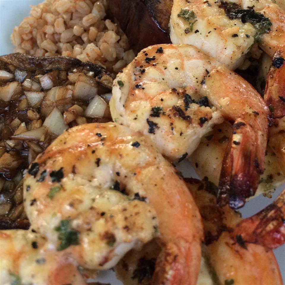 Grilled Shrimp Scampi M. Suzy Swett Lewis