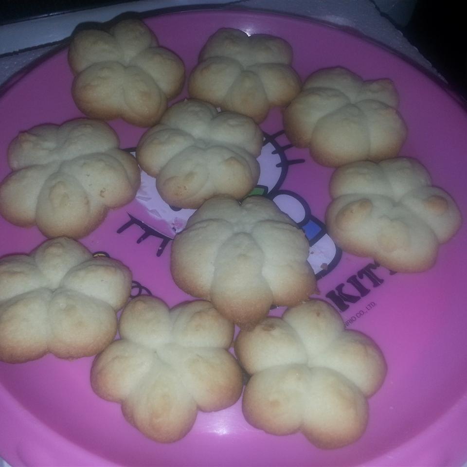 Butter Rich Spritz Butter Cookies