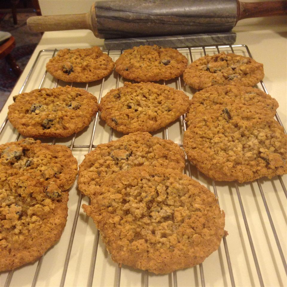 Oatmeal Cherry Walnut Cookies Mary