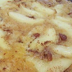 Baked Apple-Pecan Maple Pancakes pomplemousse