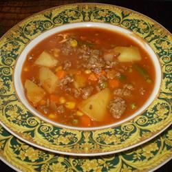 Vegetable Beef Chunky Soup Janine