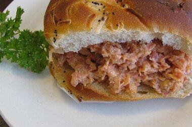 lucys ham spread recipe