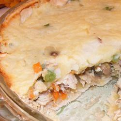 Becca's Custom Turkey Shepherd's Pie busymommy