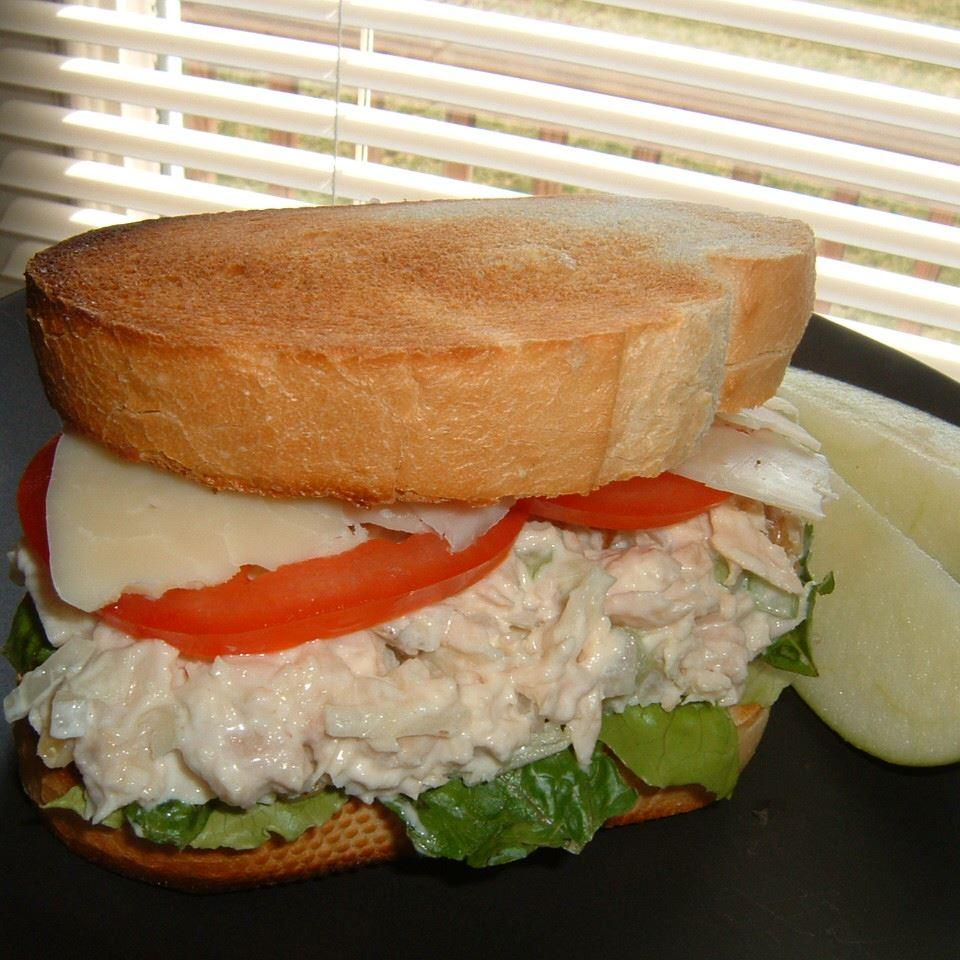 Darra's Famous Tuna Waldorf Salad Sandwich Filling Caroline C