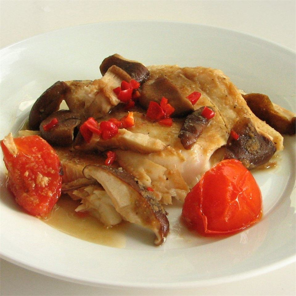 Florns' Chinese Steamed Fish charsiew