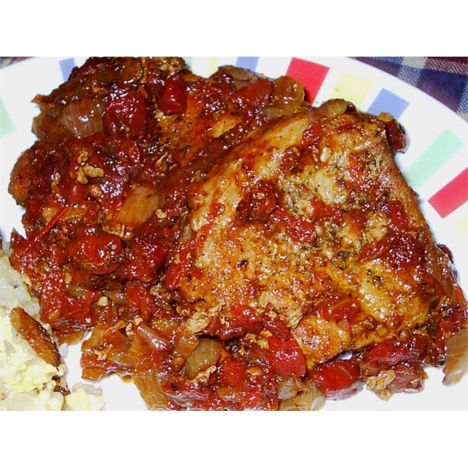 Tomato Pork Loin Chops Holly J Chadwick