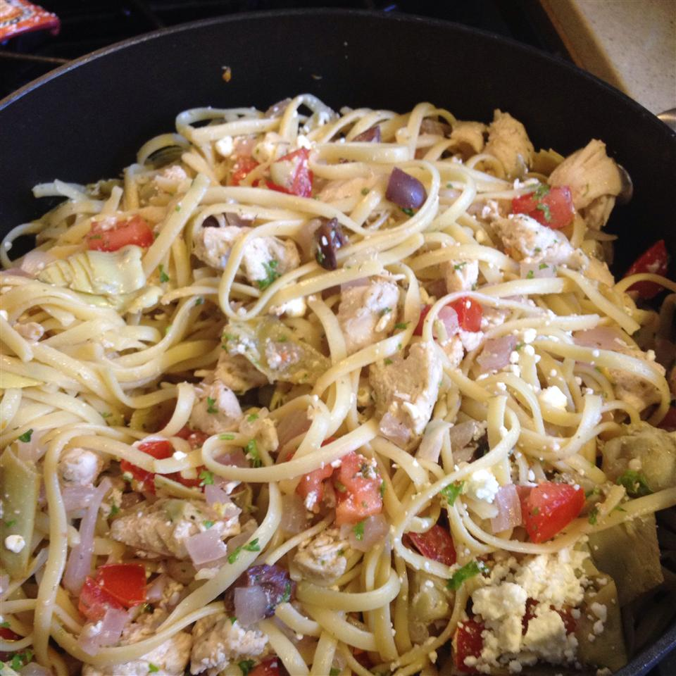 Greek Chicken Pasta cjohns50