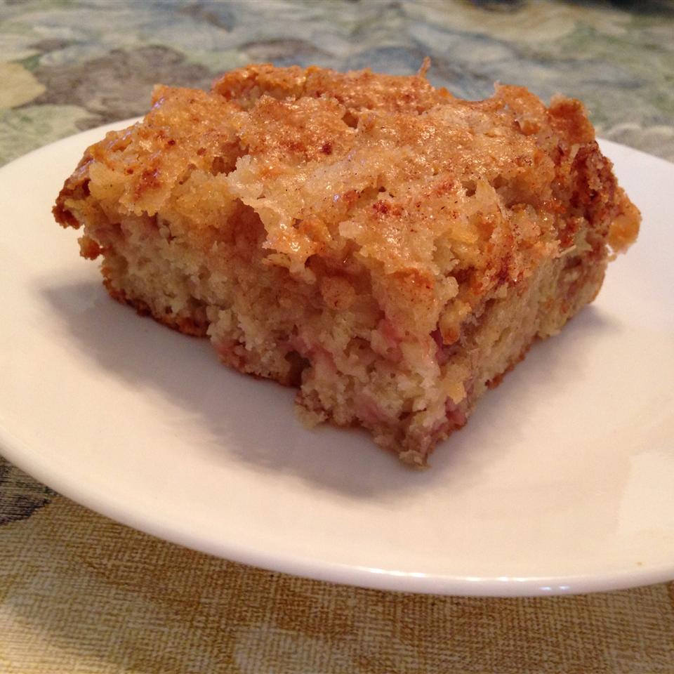 Oma's Rhubarb Cake