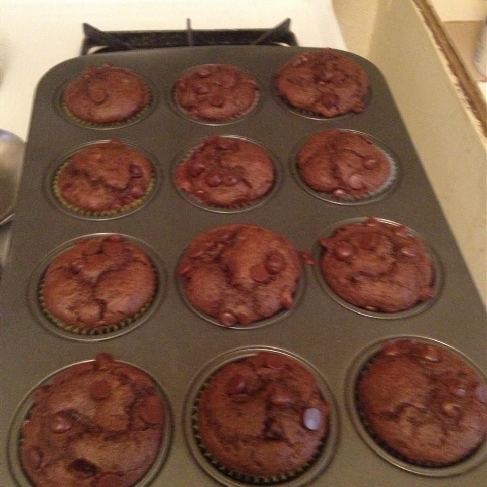 Moist Chocolate Muffins Katie B.