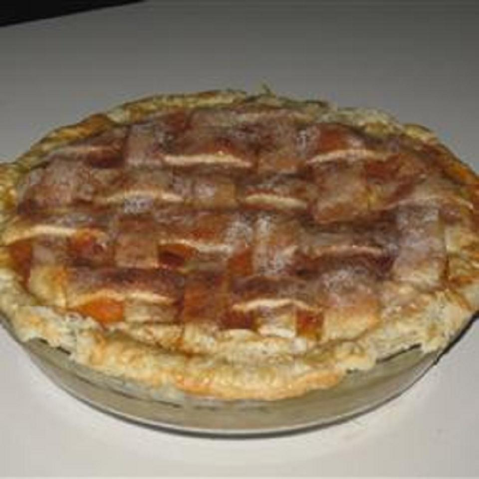 Rustic Apricot Pie luv2cook