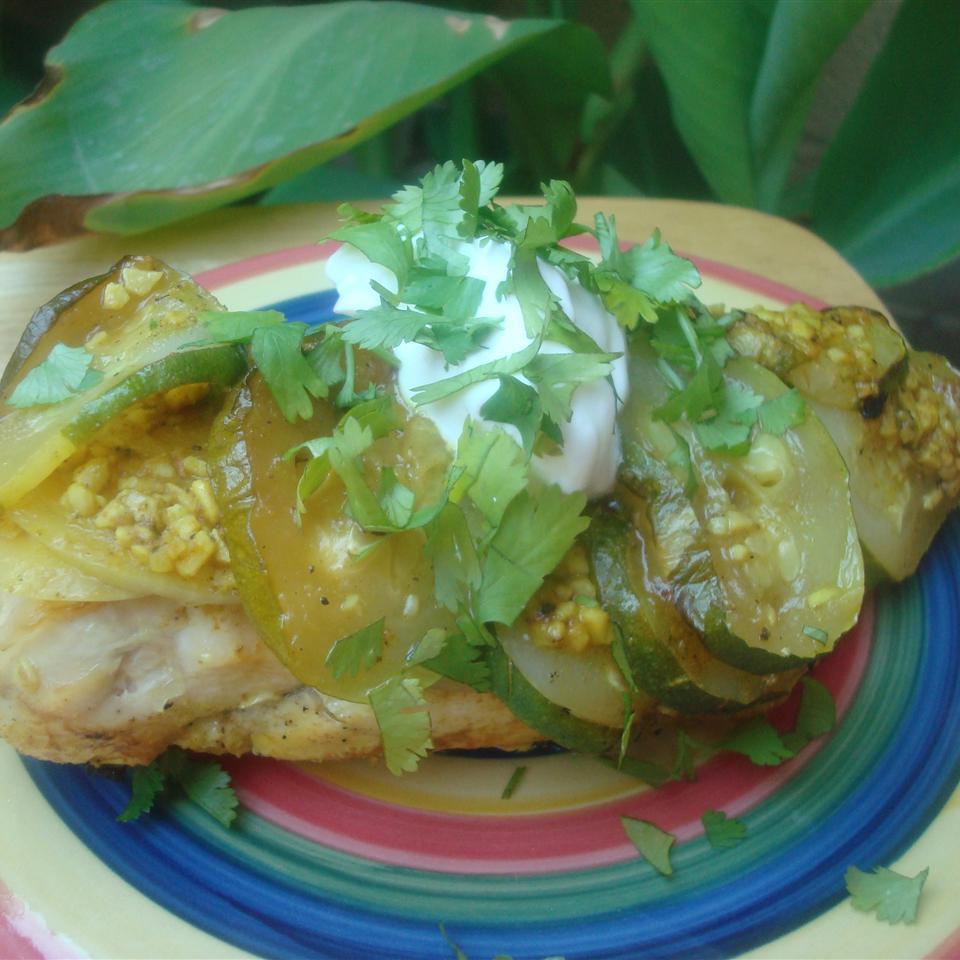 Grilled Masala Chicken with Vegetables Arizona Desert Flower