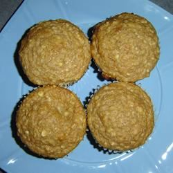 Oat Applesauce Muffins Serena-Marie