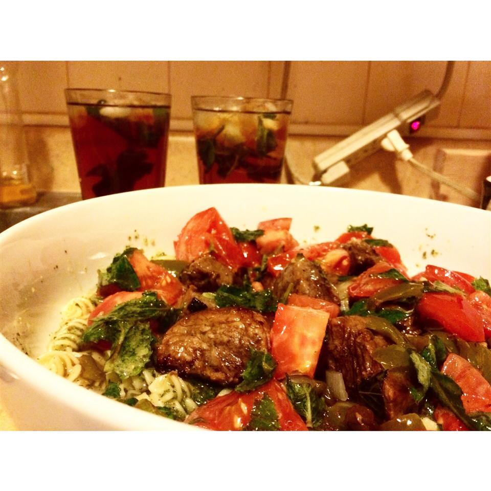 Mint-Tomato Sauce for Lamb maria