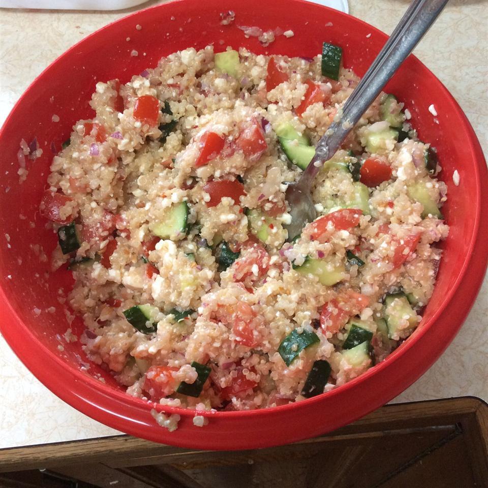 Italian Quinoa Salad Celeste Anderson