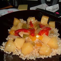 Pineapple Pork Chops KARI9844