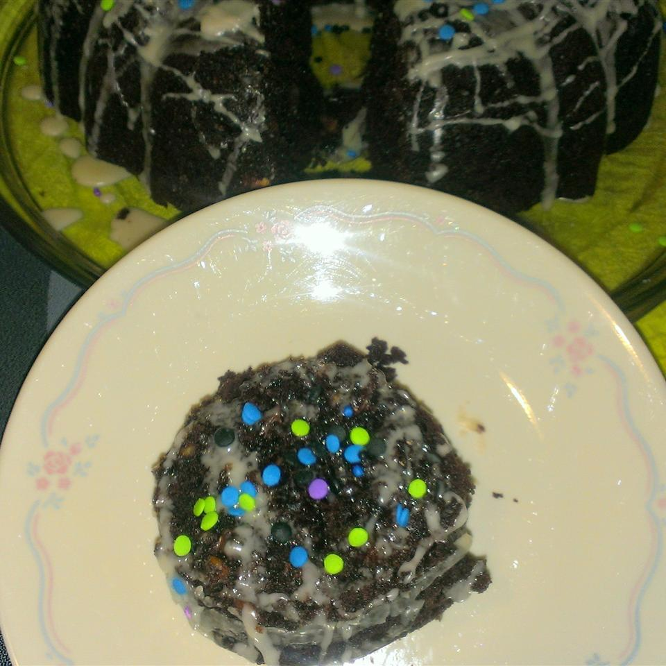 Chocolate Chocolate Chip Bundt Cake StickySue