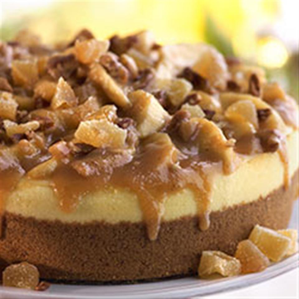 Apple Butter Cardamom Cheesecake