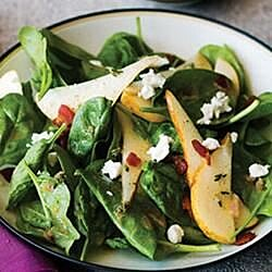 strawberry spinach and pear salad recipe