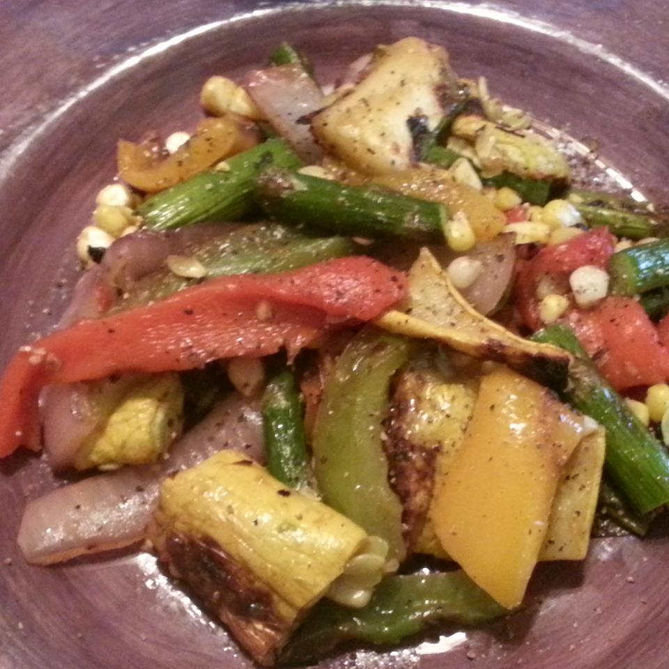Grilled Vegetable Salad Andrew Hoffmann