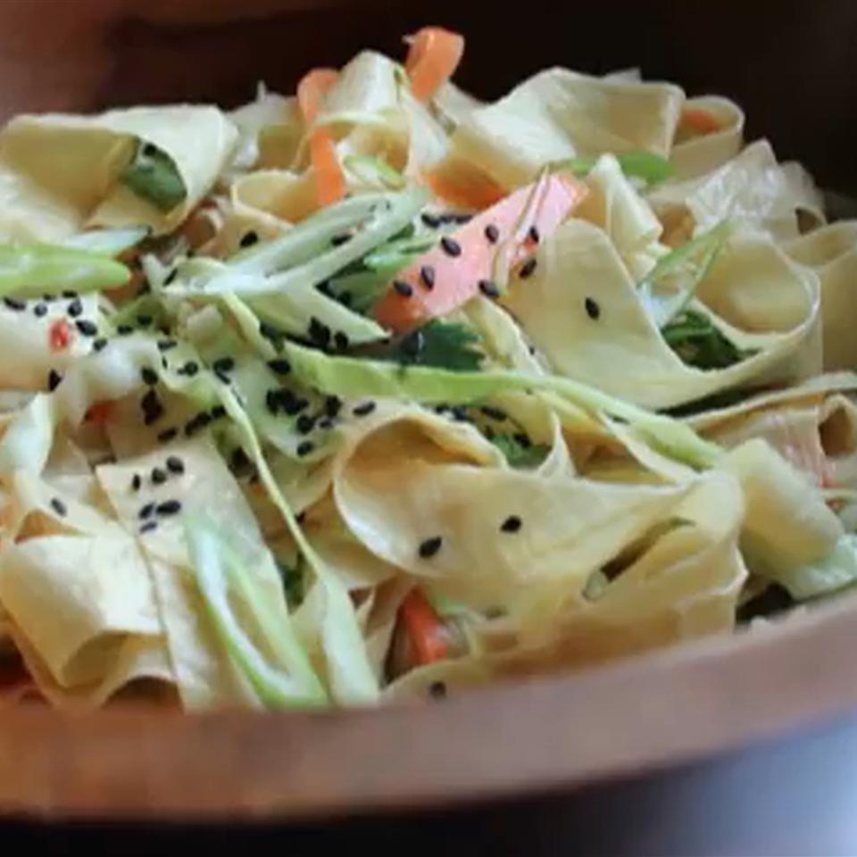 Yuba Noodle Salad Chef John