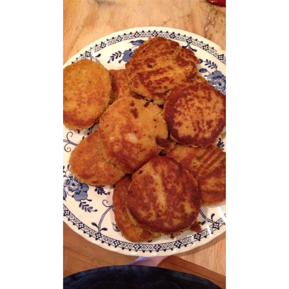 Pan-Fried Falafel sroth