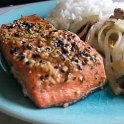 Miso Salmon Robyn