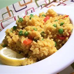 Cuban-Style Yellow Rice SunnyByrd