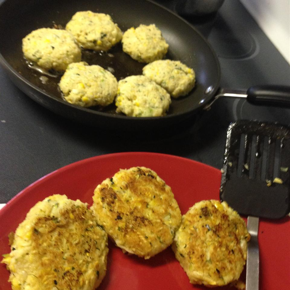 Zucchini Cakes THECHUBBYCOOK
