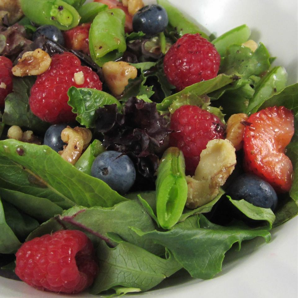 Sugar Snap Pea and Berry Salad Deb C