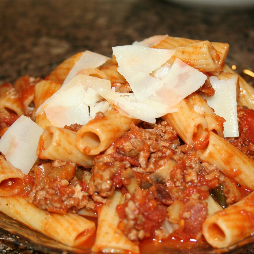 Dad's Bolognese Meat Sauce Ms. Chef Esh