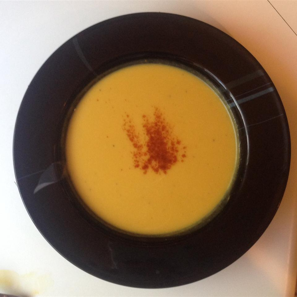Roasted Butternut Squash Soup shannon