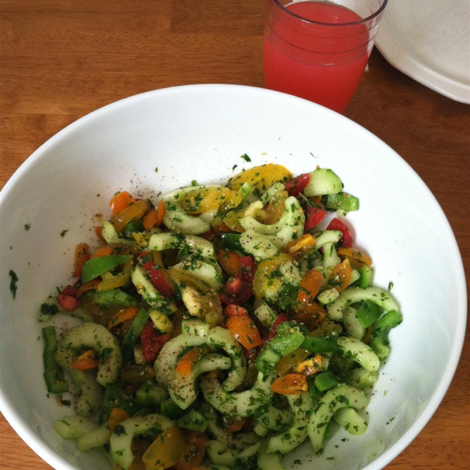 Fresh Tomato Salad Jackie Lynn Porter