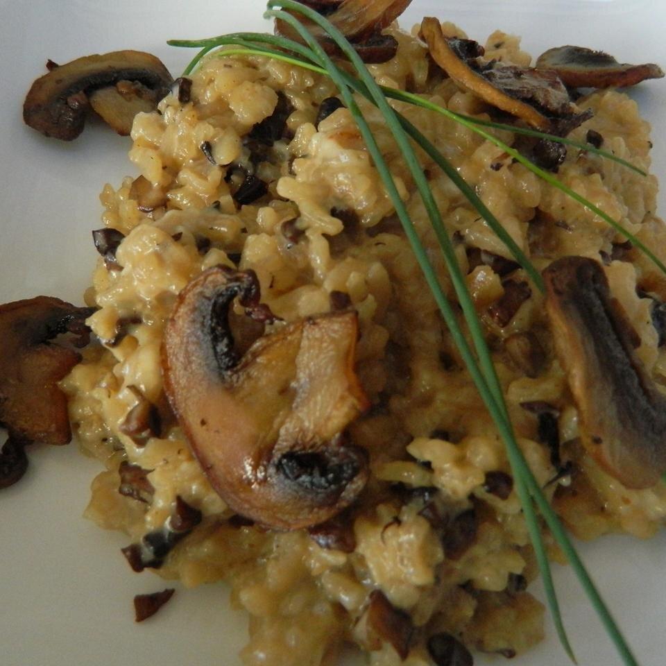 Chef John S Baked Mushroom Risotto Allrecipes