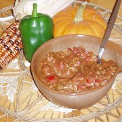 Pumpkin Chili MrBadCookWhoLikes2Cook