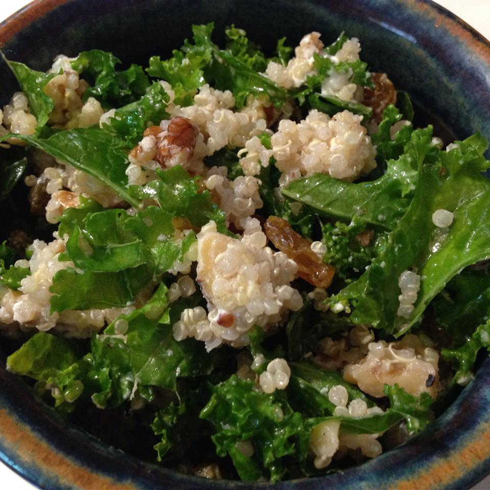 Kale and Quinoa Salad Emily Reddy