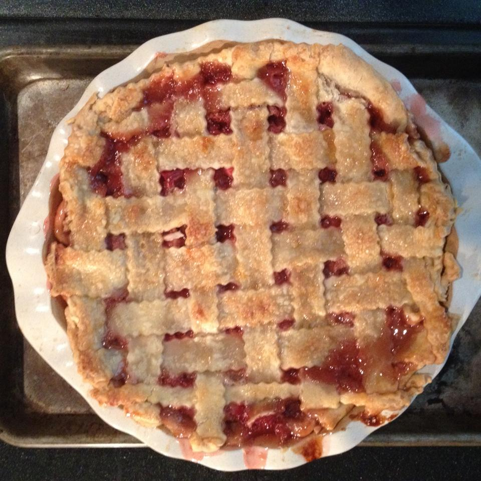 Renee's Strawberry Rhubarb Pie Christen E Marshall