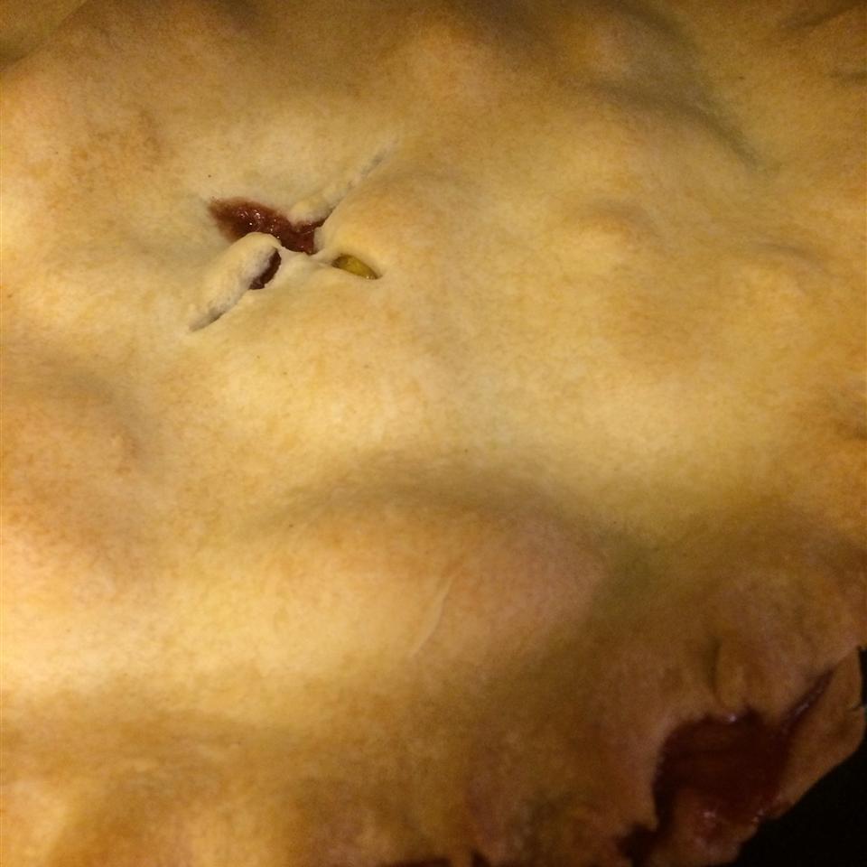 Peach-a-Berry Pie Rmharn