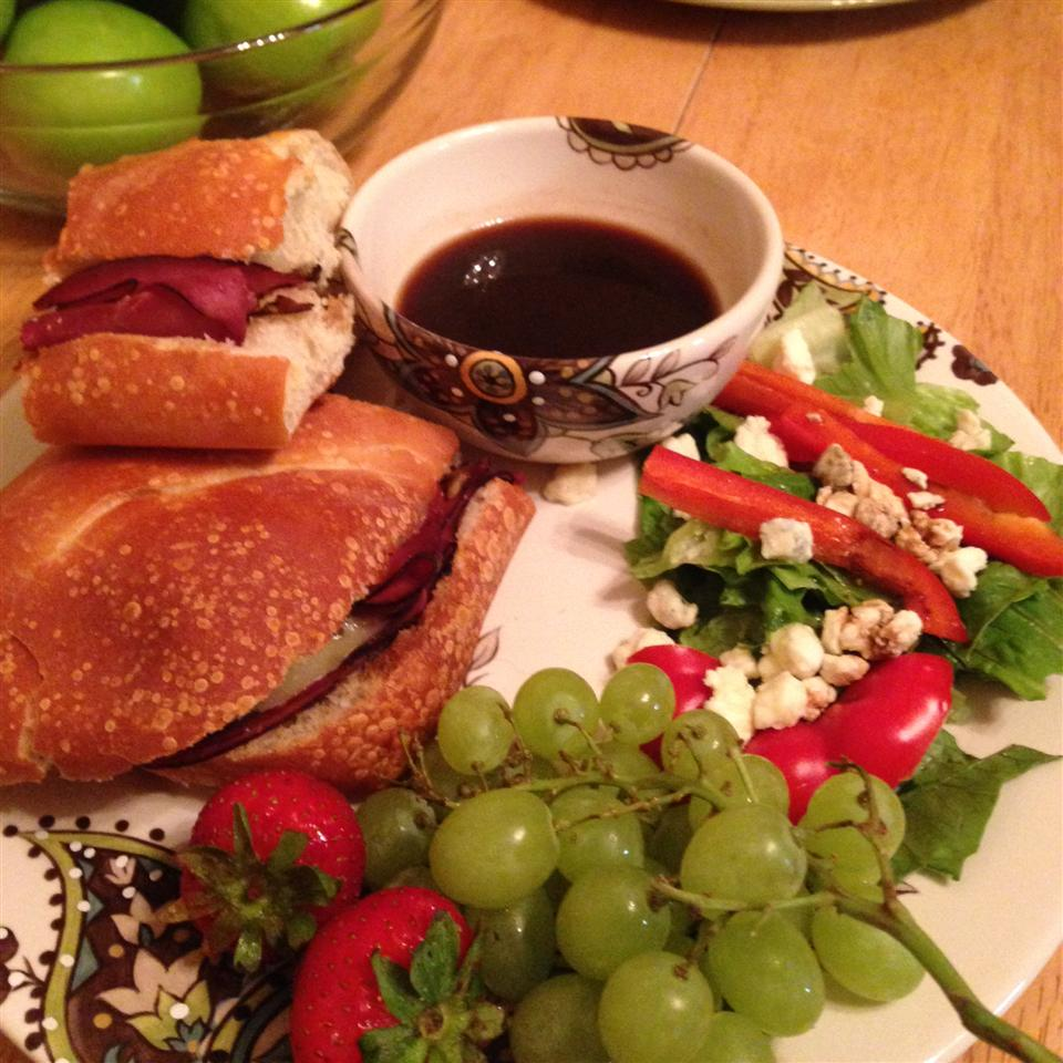 Easy French Dip Sandwiches