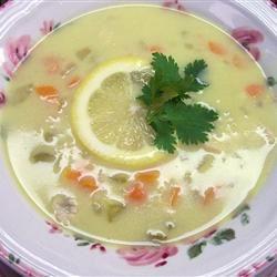 Greek Lemon Chicken Soup Traci-in-Cali